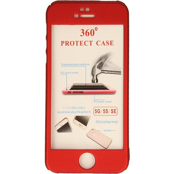 COBY FULL BODY ETUI NA TELEFON IPHONE 5G A1428 CZERWONY