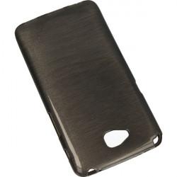 JELLY ETUI NA TELEFON LG G PRO LITE D684 CZARNY-METALLIC