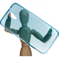 ETUI CLEAR HTC DESIRE 620 820 MINI NIEBIESKI