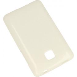 JELLY ETUI NA TELEFON LG L3 II E430 OPTIMUS BIAŁY