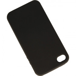 ETUI JELLY FUNNY APPLE iPHONE 4 4S CZARNY