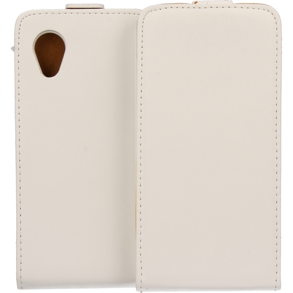KABURA SLIGO ELEGANCE ETUI NA TELEFON LG NEXUS 5 E980 BIAŁY