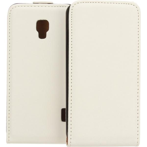 KABURA SLIGO ELEGANCE ETUI NA TELEFON LG F6 D505 BIAŁY