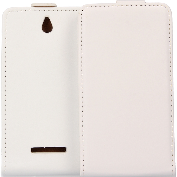 KABURA SLIGO ELEGANCE ETUI NA TELEFON SONY Xperia E C1504 BIAŁY