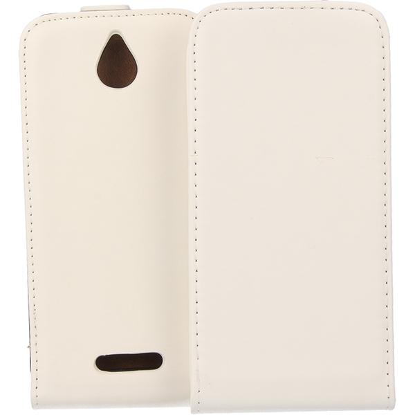 KABURA SLIGO ELEGANCE ETUI NA TELEFON HTC DESIRE 510 BIAŁY
