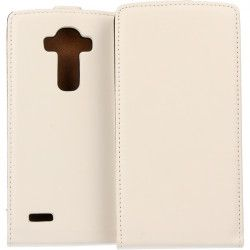 KABURA SLIGO ELEGANCE ETUI NA TELEFON LG G4 H815 BIAŁY