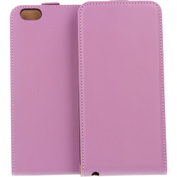 KABURA SLIGO ELEGANCE ETUI NA TELEFON APPLE ETUI NA TELEFON IPHONE 6 Plus / 6S Plus A1522 FIOLETOWY