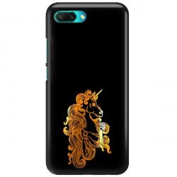 NEON GOLD ETUI NA TELEFON HUAWEI HONOR 10 COL-AL00 MIENIĄCE SIĘ ZLC124