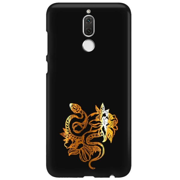 NEON GOLD ETUI NA TELEFON HUAWEI MATE 10 LITE MIENIĄCE SIĘ ZLC129
