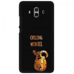 NEON GOLD ETUI NA TELEFON HUAWEI MATE 10 ALP-L09 MIENIĄCE SIĘ ZLC106