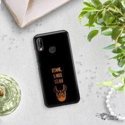 NEON GOLD ETUI NA TELEFON HUAWEI P20 LITE ANE-AL00 MIENIĄCE SIĘ ZLC102
