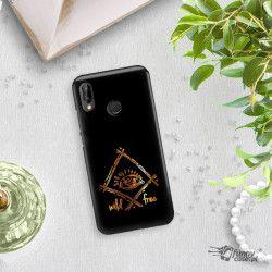 NEON GOLD ETUI NA TELEFON HUAWEI P20 LITE ANE-AL00 MIENIĄCE SIĘ ZLC115