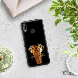 NEON GOLD ETUI NA TELEFON HUAWEI P20 LITE ANE-AL00 MIENIĄCE SIĘ ZLC117