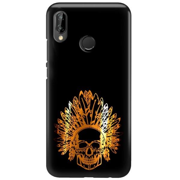 NEON GOLD ETUI NA TELEFON HUAWEI P20 LITE ANE-AL00 MIENIĄCE SIĘ ZLC120