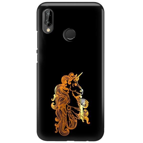 NEON GOLD ETUI NA TELEFON HUAWEI P20 LITE ANE-AL00 MIENIĄCE SIĘ ZLC124