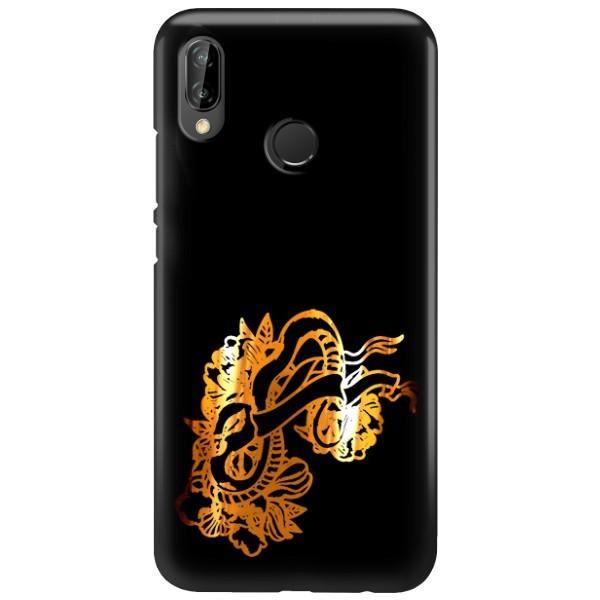 NEON GOLD ETUI NA TELEFON HUAWEI P20 LITE ANE-AL00 MIENIĄCE SIĘ ZLC126