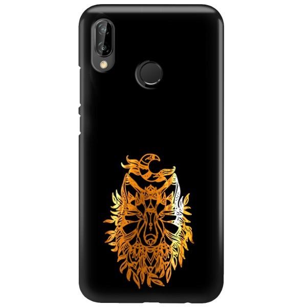 NEON GOLD ETUI NA TELEFON HUAWEI P20 LITE ANE-AL00 MIENIĄCE SIĘ ZLC128