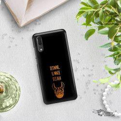 NEON GOLD ETUI NA TELEFON HUAWEI P20 EML-L09 MIENIĄCE SIĘ ZLC102