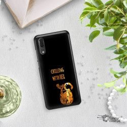 NEON GOLD ETUI NA TELEFON HUAWEI P20 EML-L09 MIENIĄCE SIĘ ZLC106