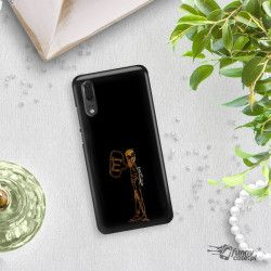 NEON GOLD ETUI NA TELEFON HUAWEI P20 EML-L09 MIENIĄCE SIĘ ZLC110