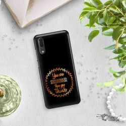 NEON GOLD ETUI NA TELEFON HUAWEI P20 EML-L09 MIENIĄCE SIĘ ZLC114