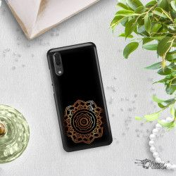 NEON GOLD ETUI NA TELEFON HUAWEI P20 EML-L09 MIENIĄCE SIĘ ZLC118