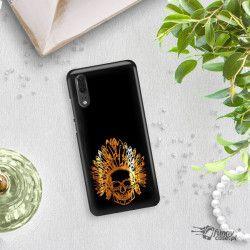 NEON GOLD ETUI NA TELEFON HUAWEI P20 EML-L09 MIENIĄCE SIĘ ZLC120