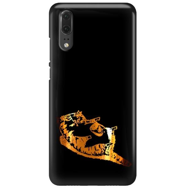 NEON GOLD ETUI NA TELEFON HUAWEI P20 EML-L09 MIENIĄCE SIĘ ZLC150