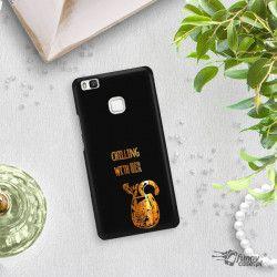 NEON GOLD ETUI NA TELEFON HUAWEI P9 LITE VNS-L31  MIENIĄCE SIĘ ZLC106