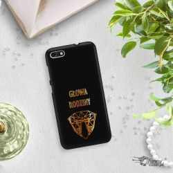 NEON GOLD ETUI NA TELEFON HUAWEI P9 LITE MINI MIENIĄCE SIĘ ZLC107