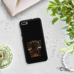 NEON GOLD ETUI NA TELEFON HUAWEI P9 LITE MINI MIENIĄCE SIĘ ZLC109