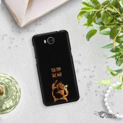 NEON GOLD ETUI NA TELEFON HUAWEI Y5 2017 Y6 2017 MYA-L03 MIENIĄCE SIĘ ZLC100