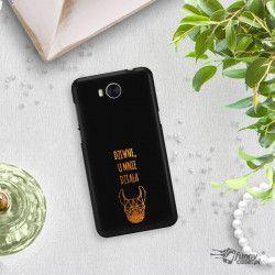 NEON GOLD ETUI NA TELEFON HUAWEI Y5 2017 Y6 2017 MYA-L03 MIENIĄCE SIĘ ZLC102