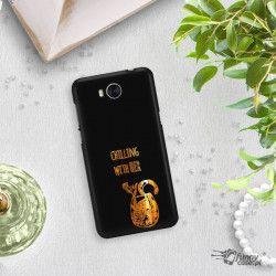 NEON GOLD ETUI NA TELEFON HUAWEI Y5 2017 Y6 2017 MYA-L03 MIENIĄCE SIĘ ZLC106