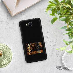 NEON GOLD ETUI NA TELEFON HUAWEI Y5 2017 Y6 2017 MYA-L03MIENIĄCE SIĘ ZLC108