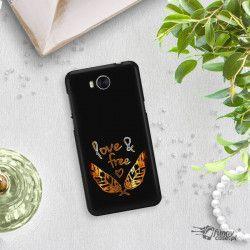 NEON GOLD ETUI NA TELEFON HUAWEI Y5 2017 Y6 2017 MYA-L03 MIENIĄCE SIĘ ZLC113
