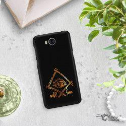 NEON GOLD ETUI NA TELEFON HUAWEI Y5 2017 Y6 2017 MYA-L03 MIENIĄCE SIĘ ZLC115