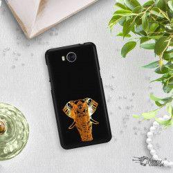 NEON GOLD ETUI NA TELEFON HUAWEI Y5 2017 Y6 2017 MYA-L03 MIENIĄCE SIĘ ZLC117