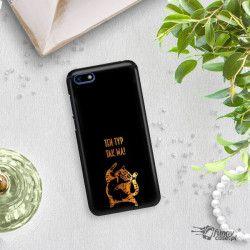 NEON GOLD ETUI NA TELEFON HUAWEI Y5 2018 MIENIĄCE SIĘ ZLC100