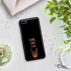 NEON GOLD ETUI NA TELEFON HUAWEI Y5 2018 MIENIĄCE SIĘ ZLC102