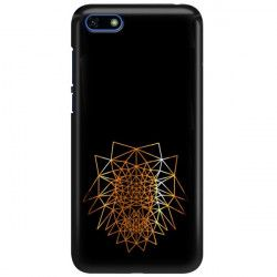NEON GOLD ETUI NA TELEFON HUAWEI Y5 2018 MIENIĄCE SIĘ ZLC103