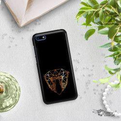 NEON GOLD ETUI NA TELEFON HUAWEI Y5 2018 MIENIĄCE SIĘ ZLC104