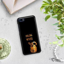 NEON GOLD ETUI NA TELEFON HUAWEI Y5 2018 MIENIĄCE SIĘ ZLC106