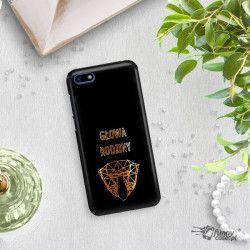 NEON GOLD ETUI NA TELEFON HUAWEI Y5 2018 MIENIĄCE SIĘ ZLC107