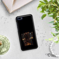 NEON GOLD ETUI NA TELEFON HUAWEI Y5 2018 MIENIĄCE SIĘ ZLC109