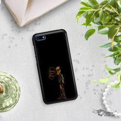 NEON GOLD ETUI NA TELEFON HUAWEI Y5 2018 MIENIĄCE SIĘ ZLC110