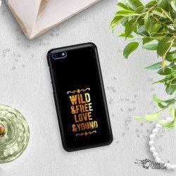 NEON GOLD ETUI NA TELEFON HUAWEI Y5 2018 MIENIĄCE SIĘ ZLC111