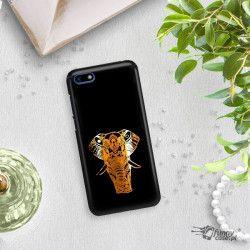 NEON GOLD ETUI NA TELEFON HUAWEI Y5 2018 MIENIĄCE SIĘ ZLC112