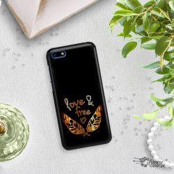 NEON GOLD ETUI NA TELEFON HUAWEI Y5 2018 MIENIĄCE SIĘ ZLC113