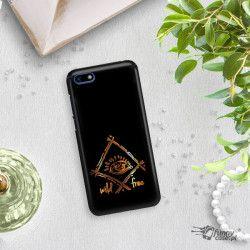 NEON GOLD ETUI NA TELEFON HUAWEI Y5 2018 MIENIĄCE SIĘ ZLC115